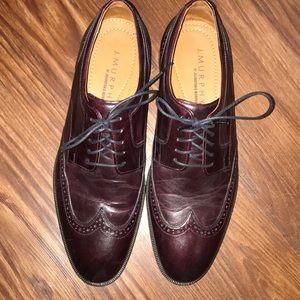 Johnston & Murphy Shoes - Men's dress shoes by J. Murphy in cherry